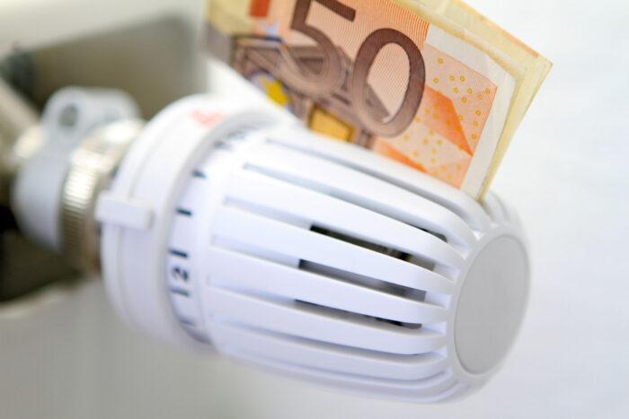 Prijs spouwmuurisolatie - 50 euro aan thermostaat